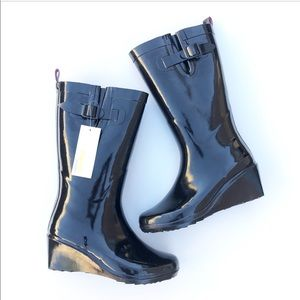 Capelli of New York Shoes - Capelli of New York. Wedge heel rain boots
